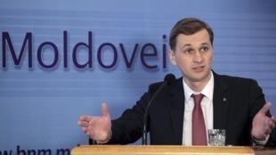 Президент Национального банка Молдовы Дорин Дрэгуцану подал в отставку 21 сентября 2015.