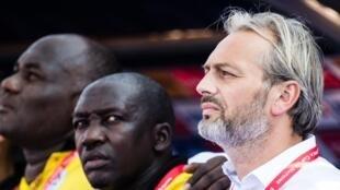 Kocin kasar Uganda da ya rasa aikinsa Sebestian Desabre.