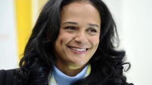 Empresária Isabel dos Santos.