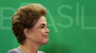 Rais wa Brazil Dilma Rousseff, Machi 22, 2016 Brasilia.