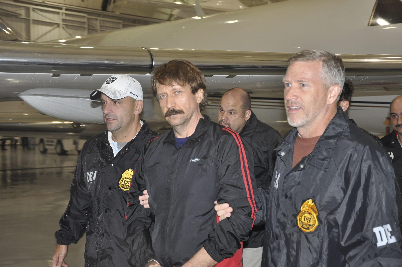 Виктор Бут по прибытии в Нью-Йорк 16 ноября 2010 г.