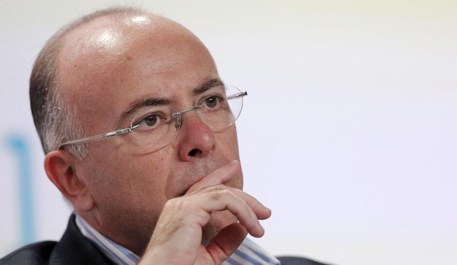 Министр бюджета Франции Бернар Казнёв (Bernard Cazeneuve)