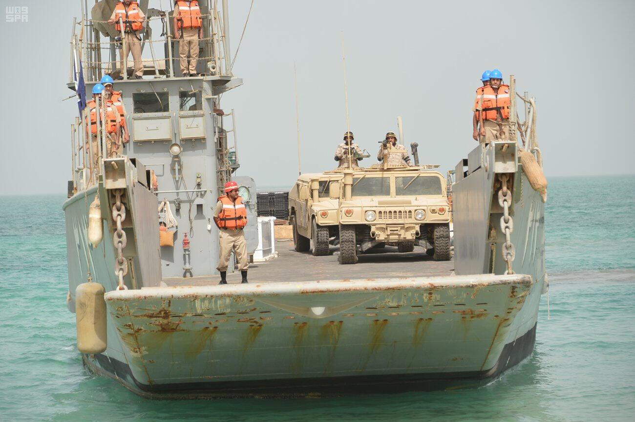 شناورهای عربستان سعودی در رزمایش خلیج فارس