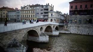 Le Pont latin de Sarajevo.