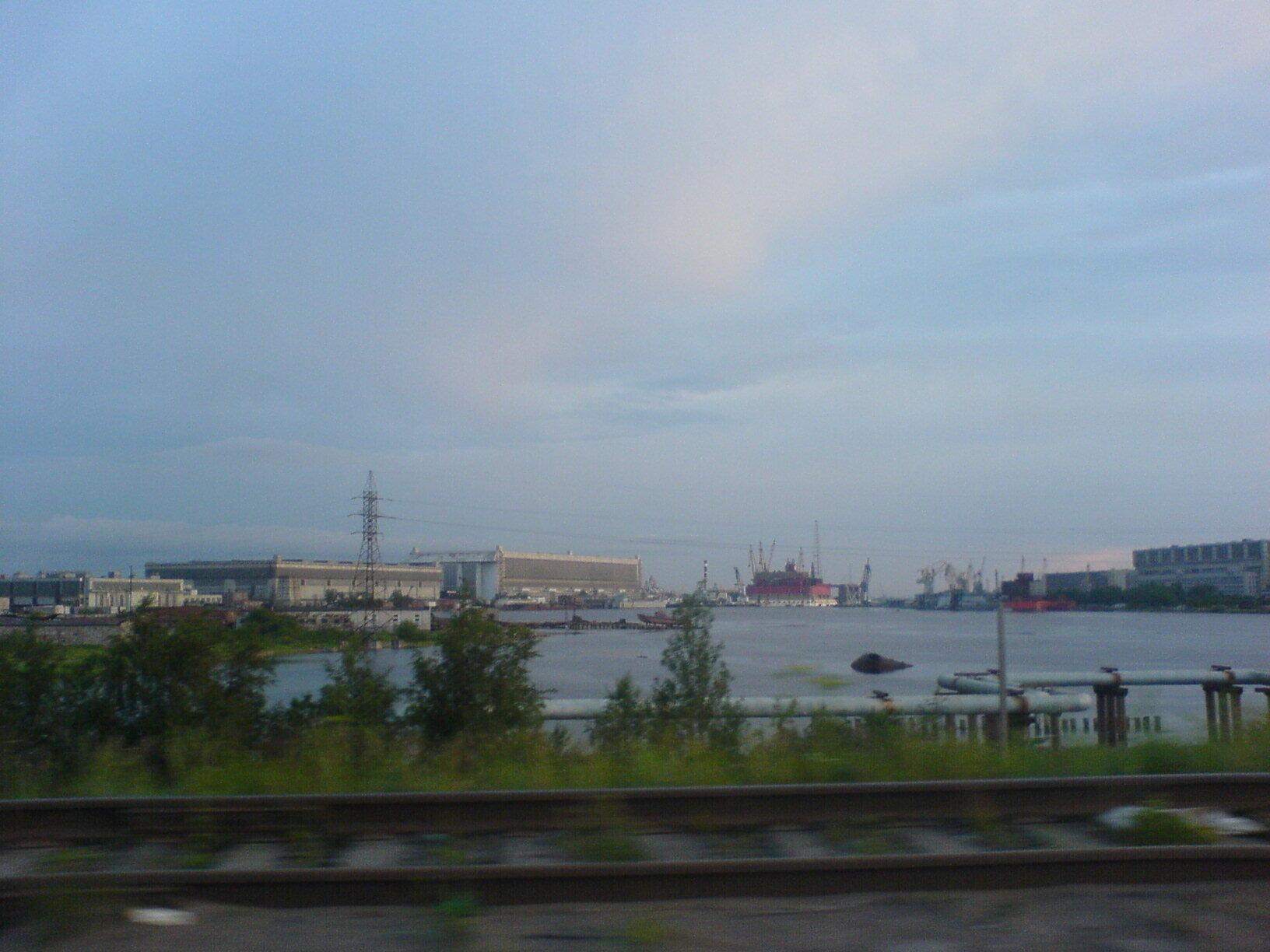 Imagem de 2007 mostra complexo naval de SevMach, em Severodvinsk, onde submarinos a propulsão nuclear são construídos.
