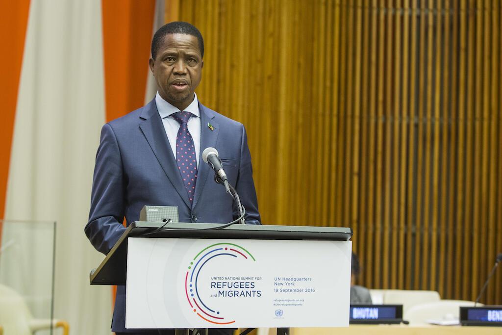 """O chefe de Estado da Zâmbia e Presidente em exercício da SADC, Edgar Lungu, considera que uma nova contagem dos votos poderia """"tranquilizar os vencedores e os derrotados""""."""