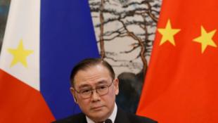 菲律賓外交部長洛欽資料圖片