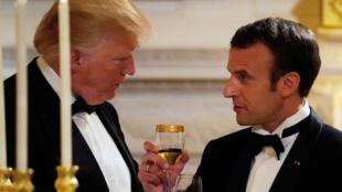 Macron se presentó como el 'anti-modelo' de Trump.