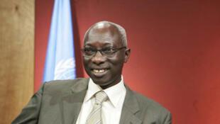 Adama Dieng, conseiller spécial des Nations-Unies pour la prévention du génocide.