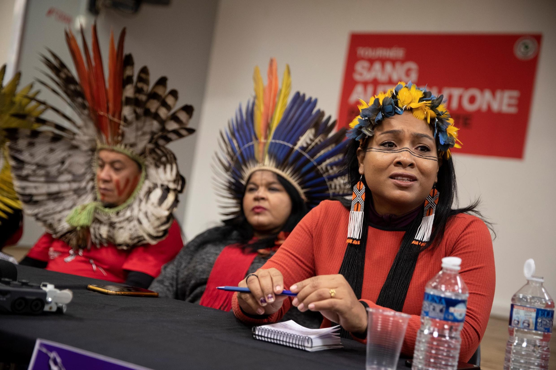 En six semaines, quatre indigènes de l'ethnie guajajara ont été assassinés au nord-est du Brésil. Certains d'entre eux étaient présents à Paris le 12 novembre dernier pour plaider leur cause auprès des Européens.
