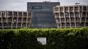 Les locaux du constructeur Airbus, à Toulouse.