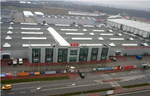 Trung tâm thương mại Wolka Kosowska (cách Varsava 25 km về phía nam), tụ điểm kinh doanh lớn của nhiều doanh nhân người Việt (DR)