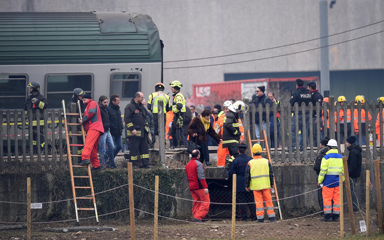 Um grave acidente ferroviário ocorreu na manhã desta quinta-feira (25) no norte da Itália