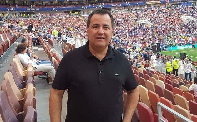 Mouad Hajji Babban sakataren hukumar kwallon kafa ta Afrika CAF.