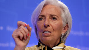 La directrice générale du Fonds monétaire international (FMI) Christine Lagarde, le 19 avril 2018.