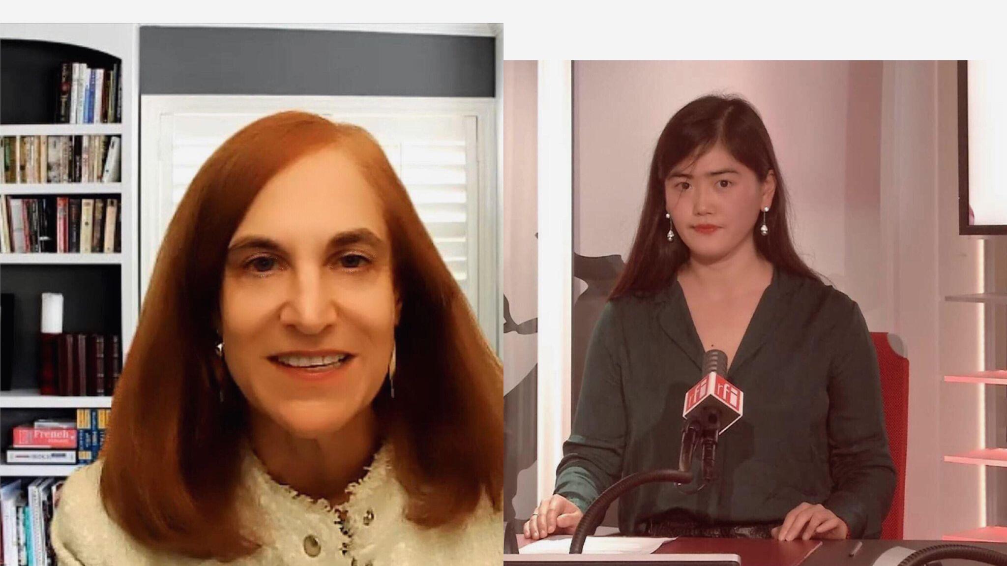 CSIS(戰略與國際研究中心)高級研究員Bonnie Glaser接受採訪
