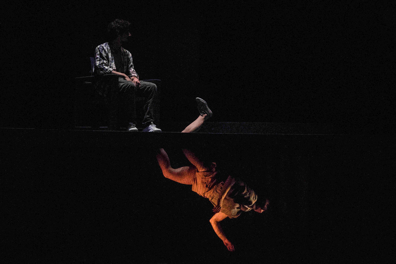 "Cena de ""Scala"", espetáculo criado por Yoann Bourgeois."