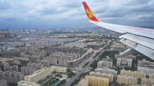 Vista aérea de la ciudad de Urumchi en Sinkiang. La ciudad fue confinada el viernes 17 de julio (Imagen ilustración).