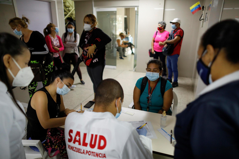 Venezuela vacina