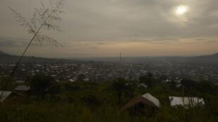 Vue de Rutshuru, dans le Nord-Kivu (illustration).
