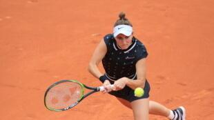 Marketa Vondrousova is playing in her third French Open