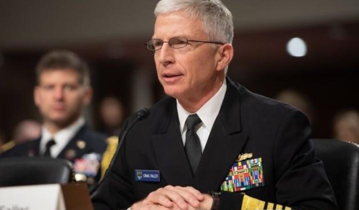 美国南方司令部司令克雷格·法勒资料图片