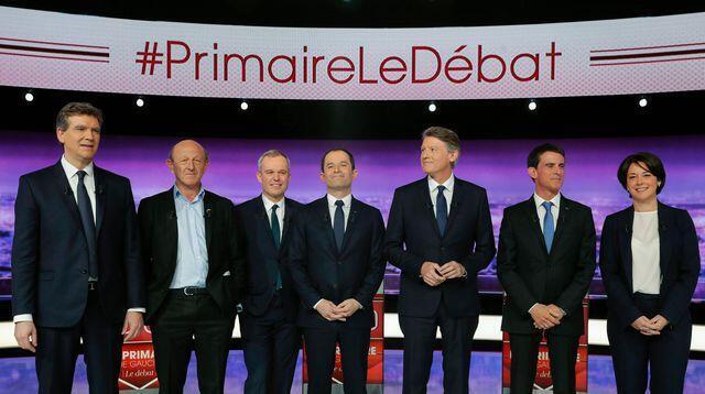 Os sete candidatos às primárias da esquerda francesa