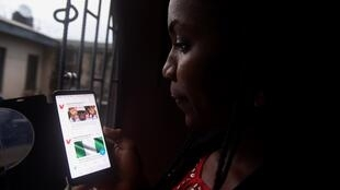 La vidéo, sur Twitter, d'une femme battue dénonçant les violences de son mari a fait réagir au Nigeria.