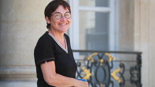French overseas territories minister Annick Girardin at cabinet meeting_27 May 2020_Ludovic_Marin_Reuters