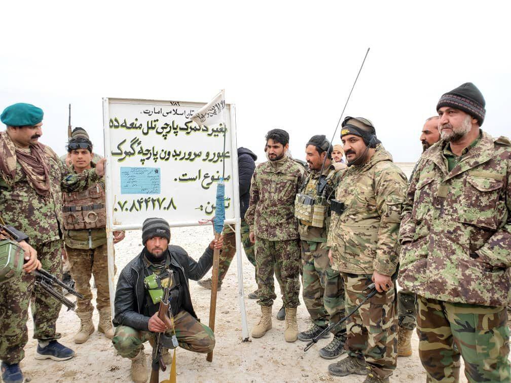 گمرک طالبان در ولسوالی «شیبکوه» واقع در ولایت فراه در غرب افغانستان برچیده شد