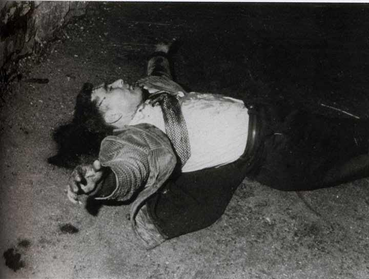A victim of the 1961 massacre