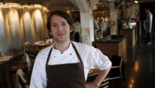 "René Redzepi, chef del restaurante danés ""Noma""."