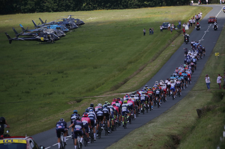 19-й этап «Тур де Франс» Муранкс – Либурн 16 июля 2021.