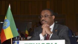 Waziri Mkuu wa Ethiopia Hailemariam Desalegn, Januari 26, 2013.