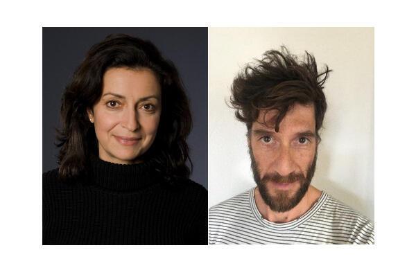 Fabienne Argiroffo et Yves Zahno.