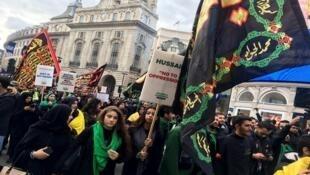 عزاداری ایرانیان مقیم کشورهای غربی در ماه محرم