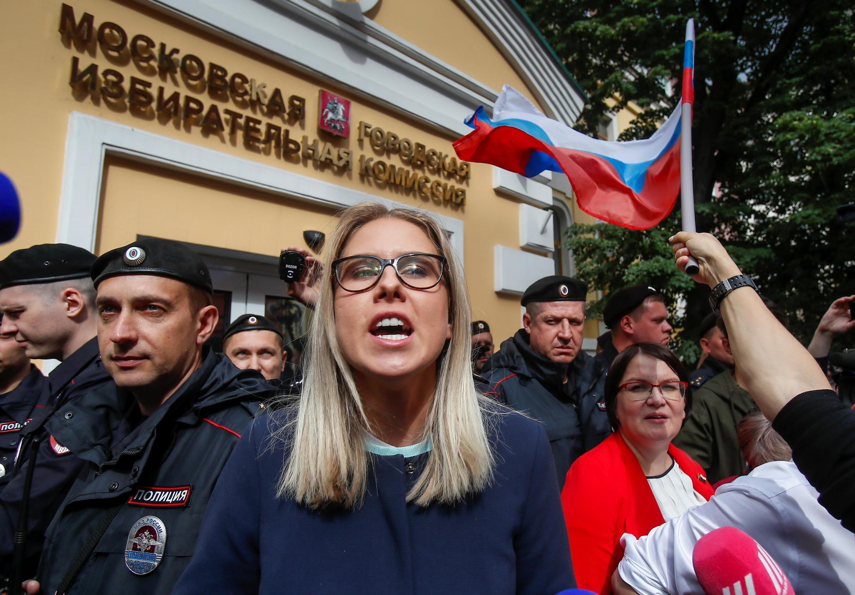 Любовь Соболь – одна из непопущенных до выборов в Мосгордуму кандидатов