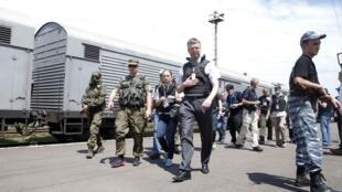 La OSCE asegura que los cadáveres han sido almacenados en vagones refrigerados.