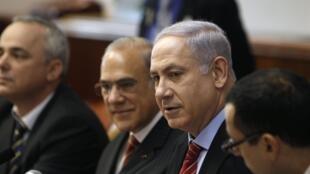 Le parti du Premier ministre israélien, Benyamin Netanyahu (photo) rejetait la perspective d'un second moratoire.