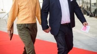 O bilionário dinamarquês Anders Holch Povlsen e sua esposa, Anne