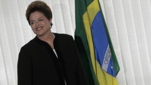 Dilma Rousseff investit la présidence du Brésil le 1er janvier 2011.