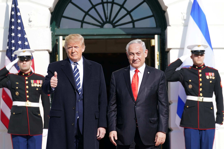Pamoja na Benyamin Netanyahu, Jumatatu Januari 27 huko Washington, Donald Trump alisema anaamini kwamba mpango wake wa amani utafaanikiwa.