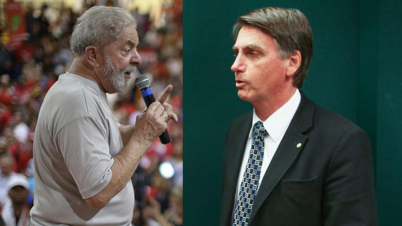 A revista semanal Le Point vê pontos negativos em comum entre o ex-presidente Lula e o depultado Jair Bolsonaro.