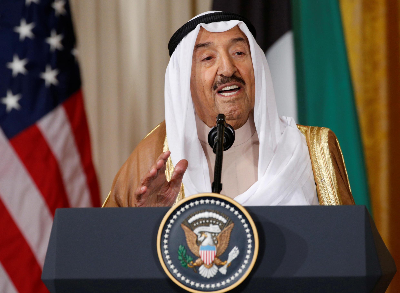 Le cheikh Sabah al-Ahmad al-Sabah le 7 septembre 2017.
