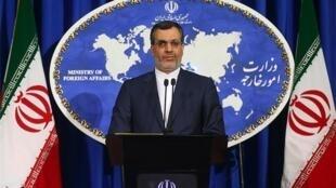 حسین جابر انصاری، سخنگوی وزارت امور خارجه ایران