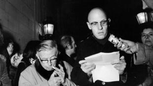 فوکو و سارتر