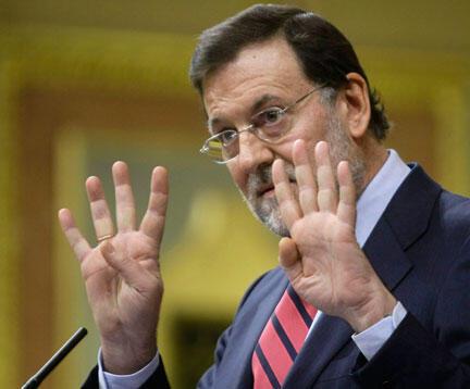 Mariano Rajoy, président du Parti populaire.