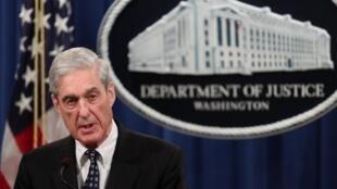 Le procureur spécial Robert Mueller, le 29 mai 2019 à Washington.
