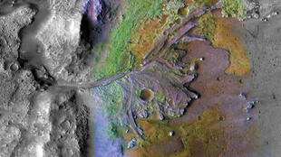 火星2020探测车可能着陆的地点-Jezero坑