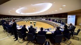 Reunión de los cancilleres de la UE y de la CELAC en Bruselas.